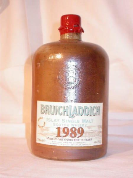 Bruichladdich 1989/2005 Steinkrug 46%vol. 0,7l