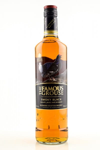 The Famous Grouse - Smoky Black 40%vol. 0,7l