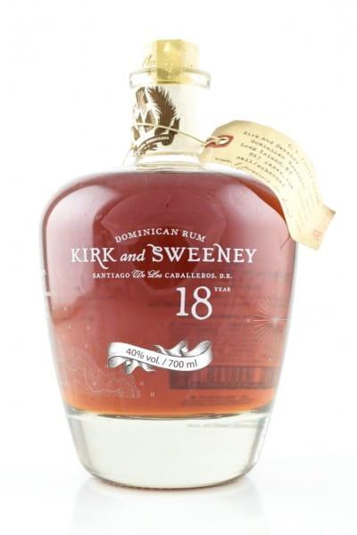 Kirk & Sweeney 18 Jahre 40%vol. 0,7l