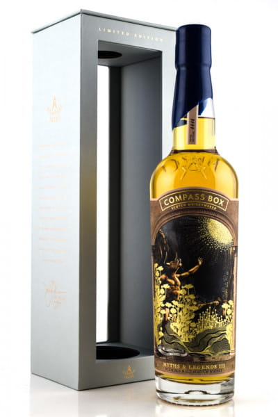 Myths & Legends III Compass Box 46%vol. 0,7l