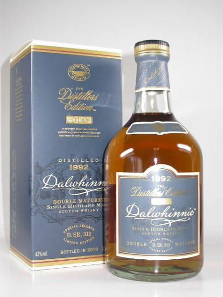 Dalwhinnie 1992/2010 Distillers Edition 43%vol. 0,7l