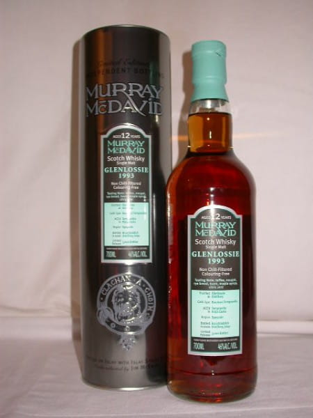 Glenlossie 1993/2006 Bourbon/Tempranillo Murray McDavid 46%vol. 0,7l