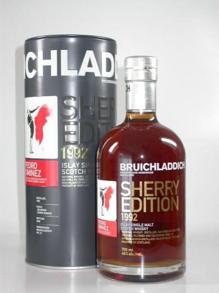 Bruichladdich Sherry Edition 2: Pedro Ximénez 1992/2009 46%vol. Sample 0,05l