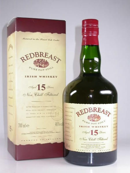 Redbreast 15 Jahre Pure Pot Still 46%vol. Sample 0,05l