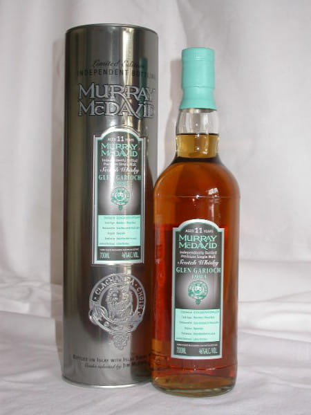 *Glen Garioch 1993/2005 Bourbon/Pinot Noir Murray McDavid 46%vol. 0,7l