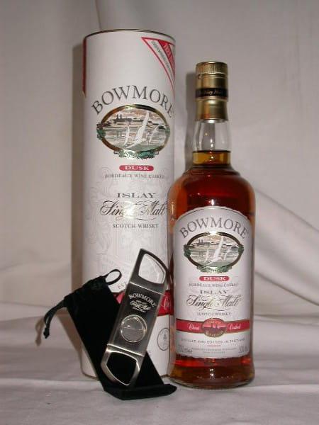 Bowmore Dusk Claret Bordeaux Finish 50%vol. 0,7l & Cigar-Cutter