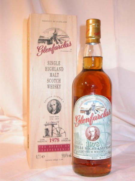 Glenfarclas 1978/2000 Edition No. 6 James Watt 59,8%vol. 0,7l