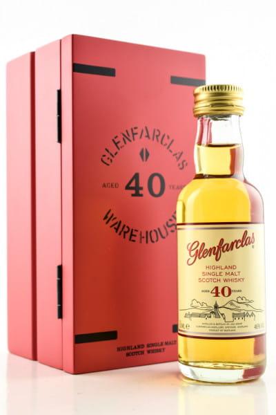 Glenfarclas 40 Jahre 43%vol. 0,05l