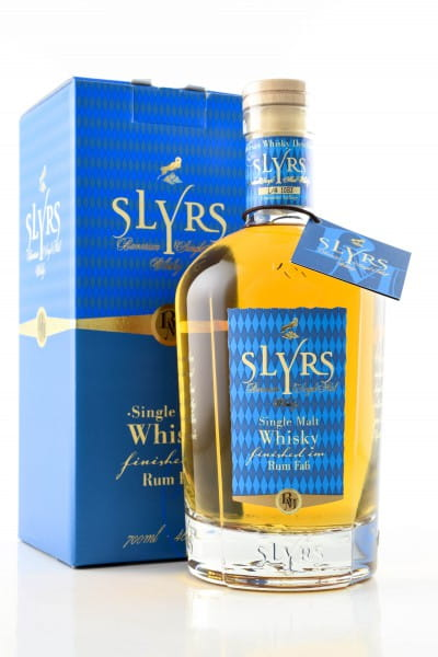 Slyrs Rum Finish 46%vol. 0,7l