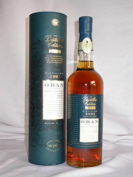 Oban 1991/2005 Distillers Edition 43%vol. 0,7l