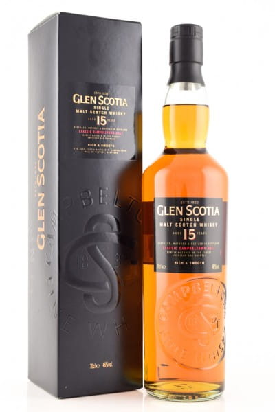 Glen Scotia 15 Jahre 46%vol. 0,7l