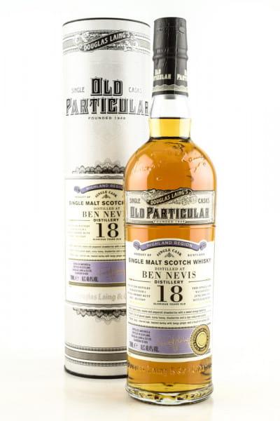 "Ben Nevis 18 Jahre Refill Sherry Butt 2001/2019 Douglas Laing ""Old Particular"" 48,4%vol. 0,7l"