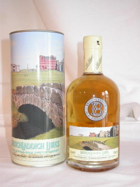 "*Bruichladdich Links ""Swilcan Bridge"" Medium Peated 46%vol. 0,5l"