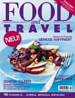 Food and Travel Ausgabe September/Oktober 2010