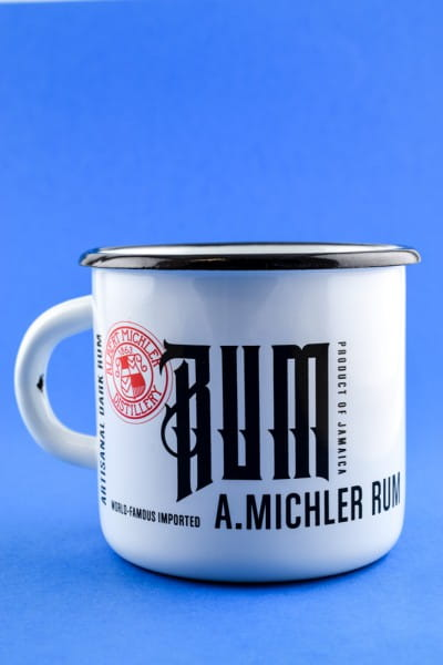 A. Michler Artisanal Dark Rum - Becher