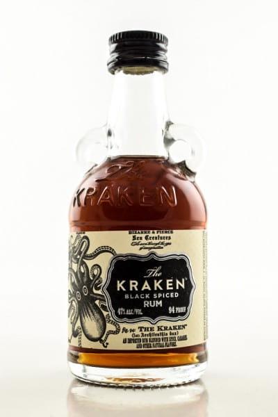 The Kraken - Black Spiced Rum 47%vol. 0,05l