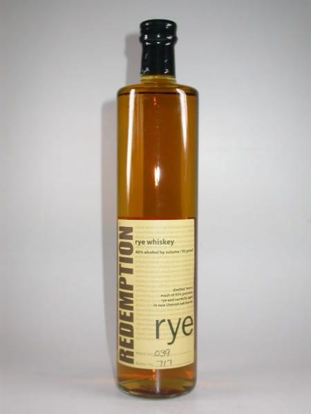 REDEMPTION Rye Whiskey 46%vol. 0,7l