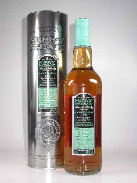 Auchentoshan 1999/2007 Bourbon/Mourvedre Murray McDavid 46%vol. 0,7l