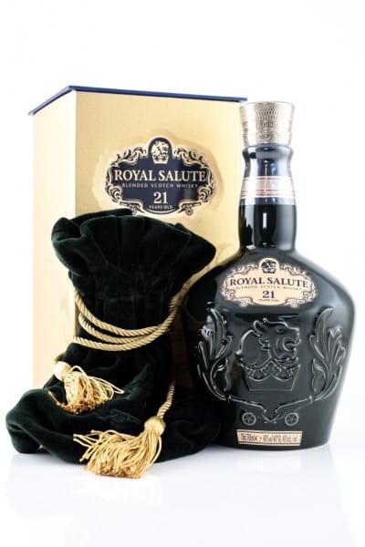 Chivas Regal Royal Salute 21 Jahre The Emerald Flagon 40%vol. 0,7l