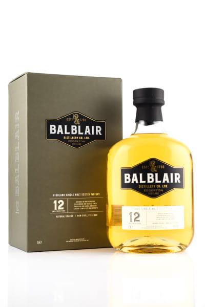 Balblair 12 Jahre 46%vol. 1,0l