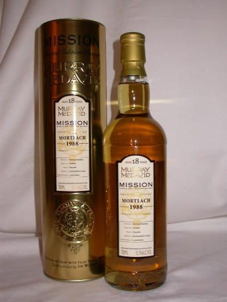 Mortlach 1988/2007 Murray McDavid Gold Series 55,3%vol. 0,7l