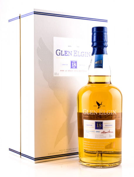 Glen Elgin 18 Jahre Special Release 2017 54,8%vol. 0,7l - Mängelexemplar