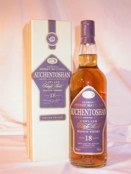 Auchentoshan 18 Jahre Oloroso Sherry 55,8%vol. 0,7l