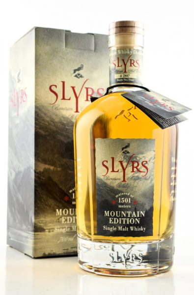 Slyrs Mountain Edition 45%vol. 0,7l
