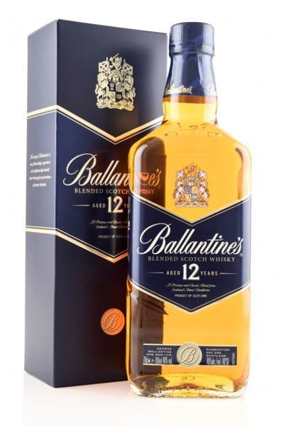Ballantine's 12 Jahre Blended Scotch Whisky 40%vol. 0,7l