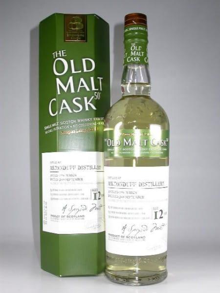 """Miltonduff 12 Jahre 1996/2008 Douglas Laing """"Old Malt Cask"""" 50%vol. 0,7l"""