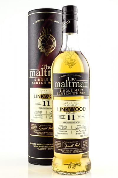 Linkwood 11 Jahre 2007/2019 Bourbon Cask #804480 The Maltman 52,1%vol. 0,7l