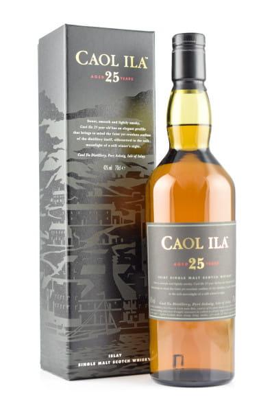 Caol Ila 25 Jahre 43%vol. 0,7l