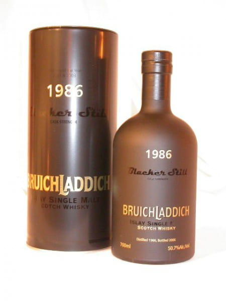 Bruichladdich Blacker Still 86/06 Oloroso Cask 50,7%vol. 0,7l