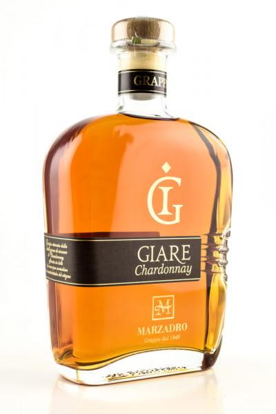 Marzadro Grappa Giare Chardonnay 45%vol. 0,7l