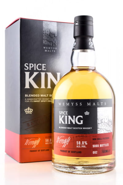 Spice King Batch Strength Wemyss Malts 58%vol. 0,7l