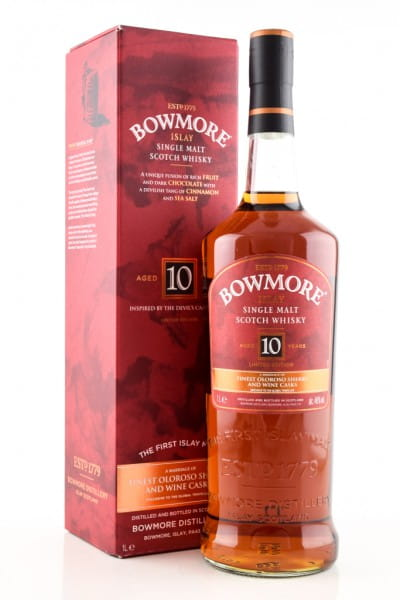 Bowmore 10 Jahre Inspired by the Devil's Cask Series 46%vol. 1,0l