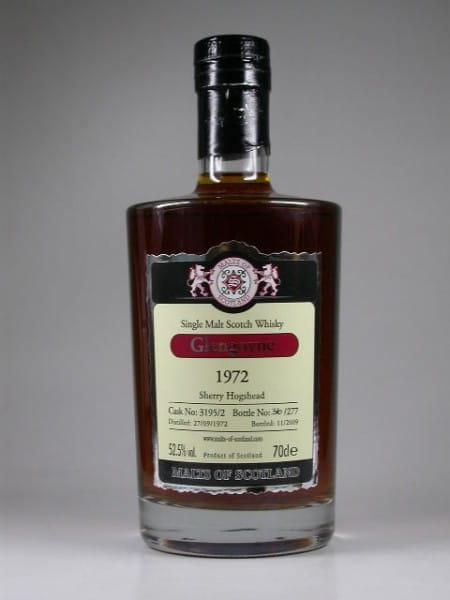 Glengoyne 1972/2009 Sherry Hogshead Malts of Scotland 52,5%vol. 0,7l