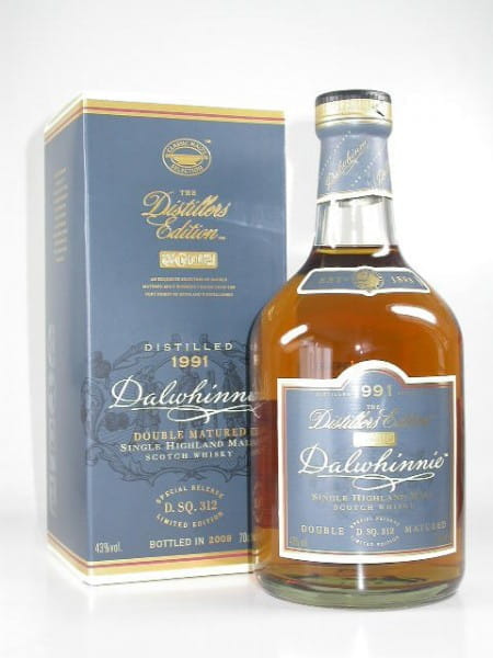 Dalwhinnie 1991/2009 Distillers Edition 43%vol. 0,7l