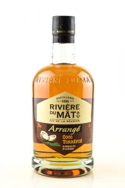 Rivière Du Mât Arrangé Coco Torréfié 35%vol. 0,7l