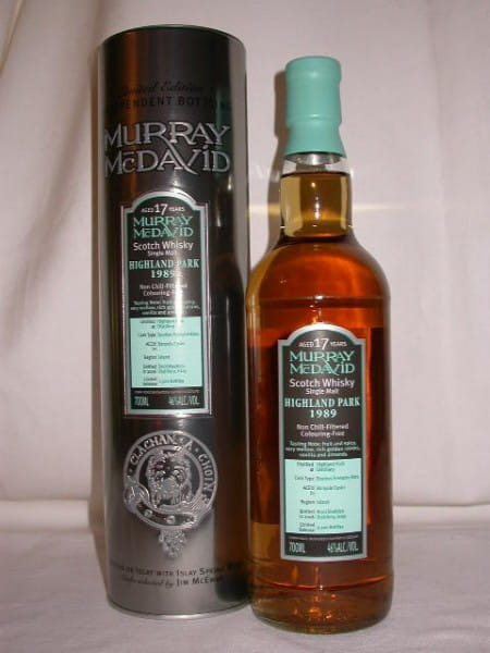Highland Park 1989/2006 Bourbon/Grenache Murray McDavid 46%vol. 0,7l