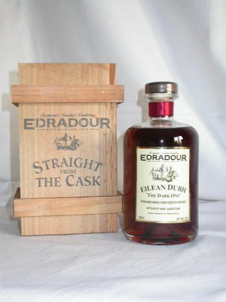 """Edradour Eilean Dubh """"The Dark One"""" 60,7%vol. 0,5l"""