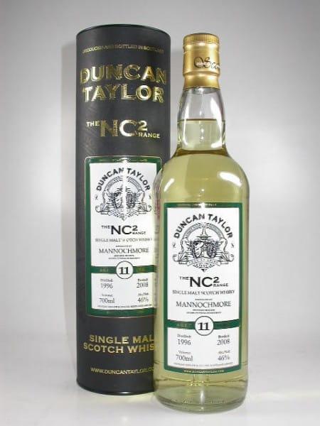 Mannochmore 1996/2008 The NC2-Range Duncan Taylor 46%vol. 0,7l