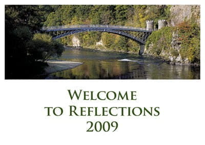 """Kalender Highlands """"Reflections"""" 2009"""