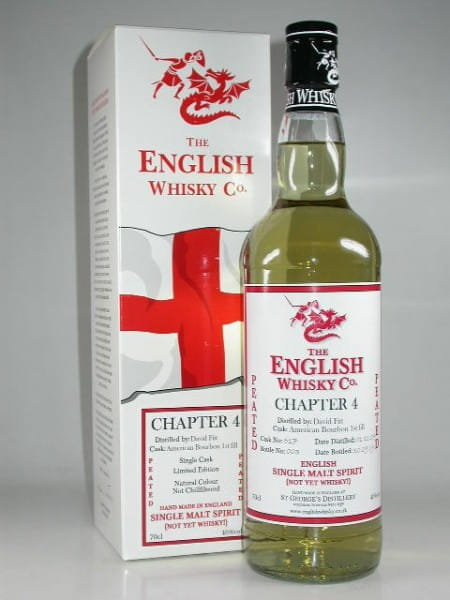 "St George's Distillery ""Chapter 4 - Peated"" Single Malt Spirit 46%vol. 0,7l"
