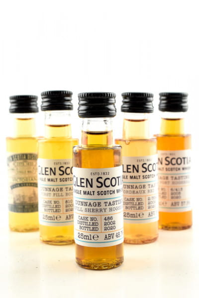 Glen Scotia - Dunnage Tasting 5x 0,025l