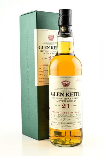 Glen Keith 21 Jahre 43%vol. 0,7l