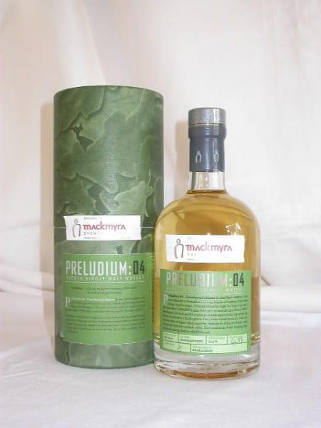 Mackmyra Preludium:04 Svensk Single Malt Whisky 53,3%vol. Sample 0,05l