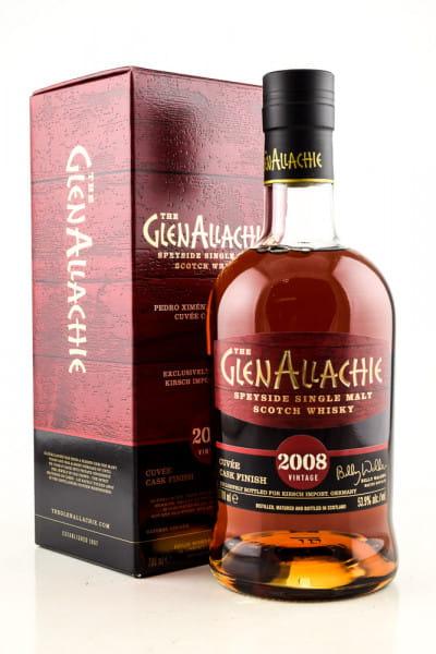 GlenAllachie 2008/2020 Pedro Ximénez & Pinot Noir Cuvée Cask Finish 53,9%vol. 0,7l