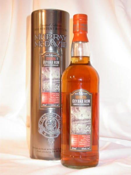 Guyana Rum Enmore-Versailles 1990/2005 Murray McDavid 46%vol. 0,7l
