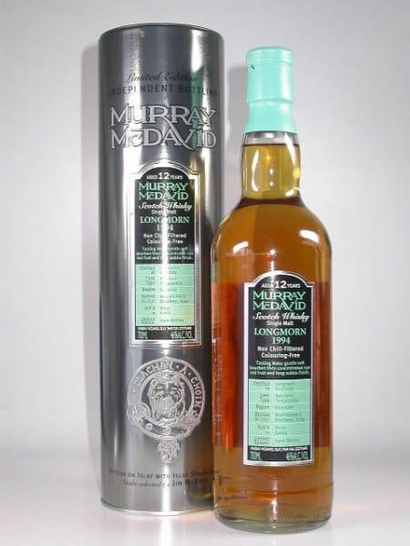 Longmorn 1994/2007 Bourbon/Tempranillo Murray McDavid 46%vol. 0,7l